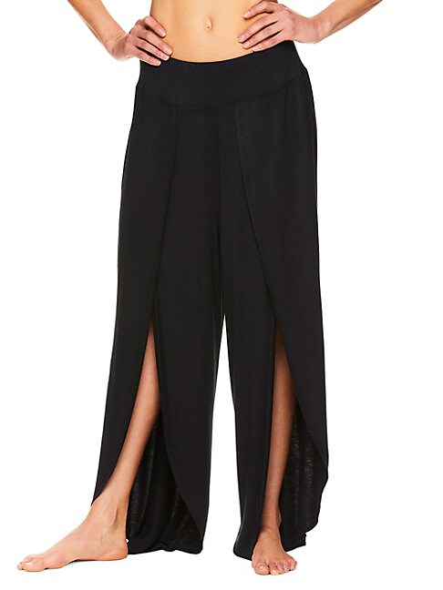 GAIAM | Tyra Wide-Leg Petal Pants | Goxip