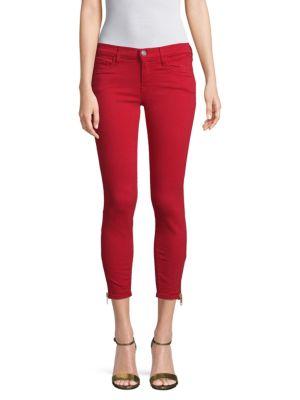 Etienne Marcel Zip Cuff Skinny Jeans