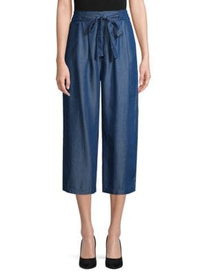 Etienne Marcel Cropped Chambray Pants