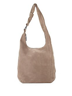Halston Heritage - Classic Suede Hobo Bag