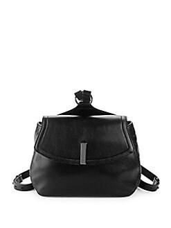 Halston Heritage - Pebbled Leather Backpack