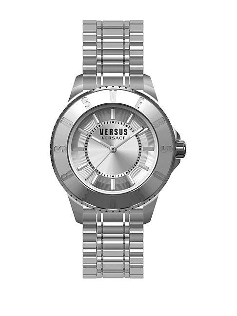 Tokyo Stainless Steel Silvertone Watch, SH7190015