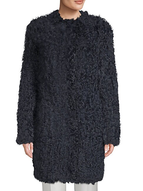 SOPHISTICATED SHEARLING COAT