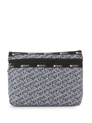 Lesportsac Taylor Large Logo Printed Pouch