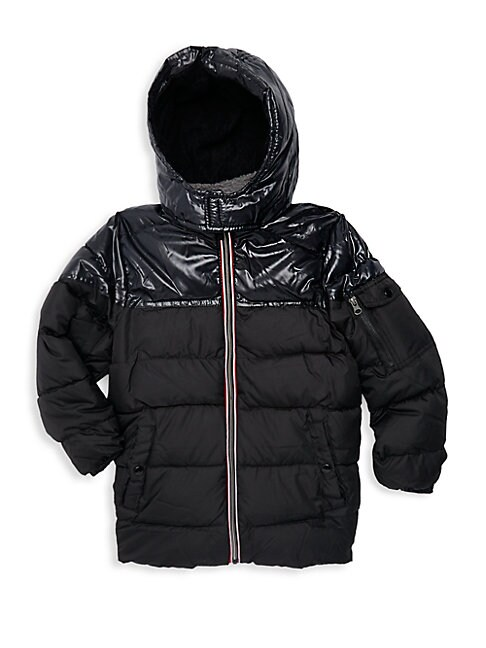 Boy's Quilted Puffer Jacket