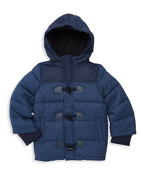 Boy's Toggle Hooded Jacket
