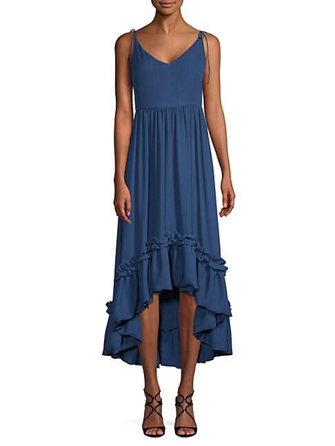 BELLE BADGLEY MISCHKA | Ellea High-Low Dress | Goxip