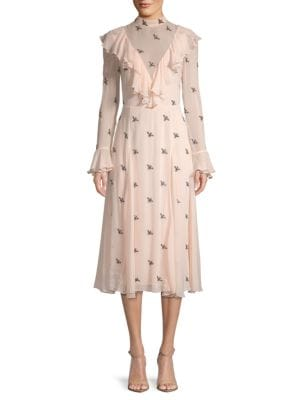 Temperley London Starling Victorian Midi Dress