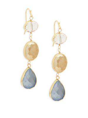 Panacea Faceted Drop Earrings