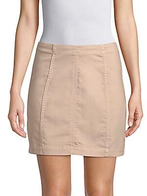3488afbc5 Free People - Modern Femme Denim Mini Skirt - saksoff5th.com