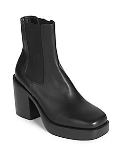 3d3b43a35f374 QUICK VIEW. Balenciaga. Leather Chelsea Boots