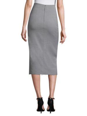 JASON WU Wools Wool Canvas Wrap Skirt
