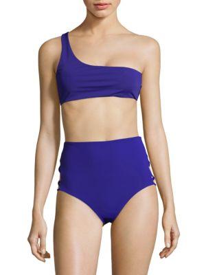 Mara Hoffman Starla One-Shoulder Bikini Top