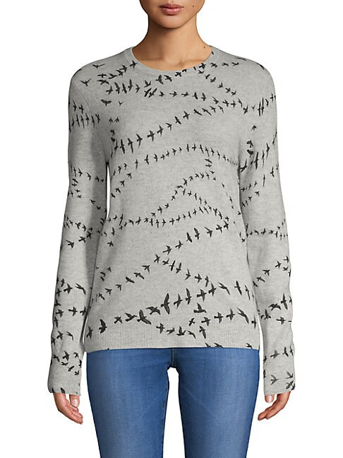 Shane Graphic Cashmere Sweater