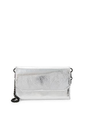 Kendall + Kylie Metallic Wallet Clutch