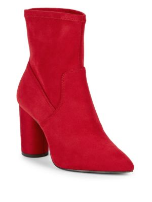 Bcbgeneration Ally Stretch Microsuede Booties