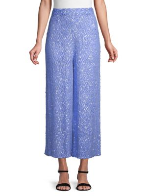 Temperley London Tiara Sequined Trousers