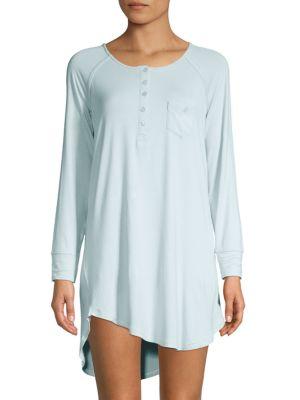 Juicy Couture High-Low Metallic Sleep Dress