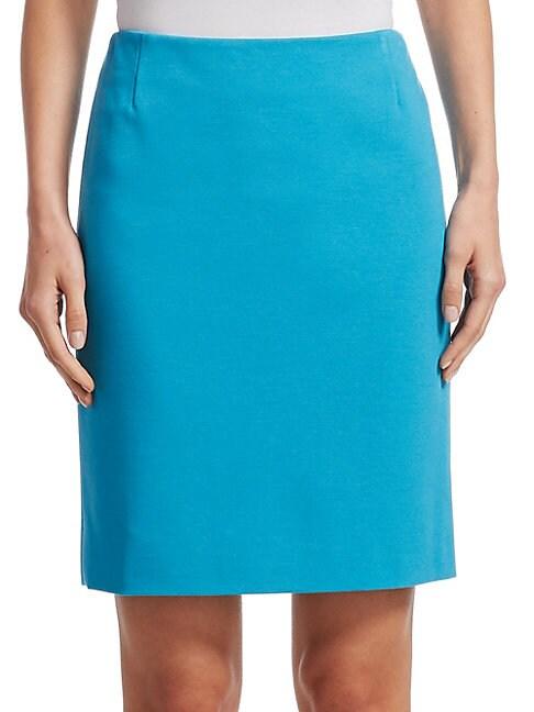AKRIS PUNTO | Jersey Mini Skirt | Goxip
