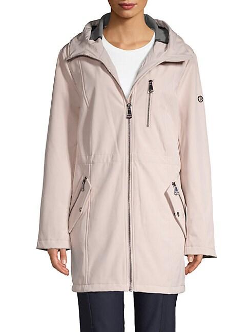 Hooded Softshell Jacket, Black