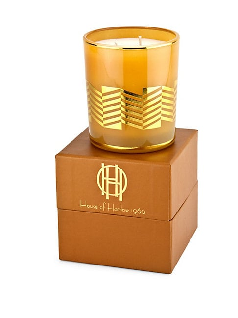 HOUSE OF HARLOW 1960 Saint James Glass Candle/10 Oz.