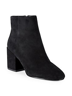 아쉬 부츠 ASH Eden Suede Booties,BLACK