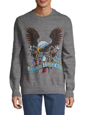 Elevenparis Graphic Cotton Sweater
