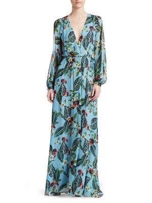 Nicholas Mayflower Wrap Dress