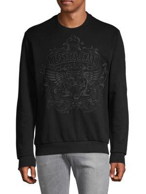 Versace Jeans Logo Cotton Sweater