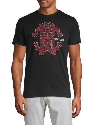 Roberto Cavalli Monogram Graphic T-Shirt