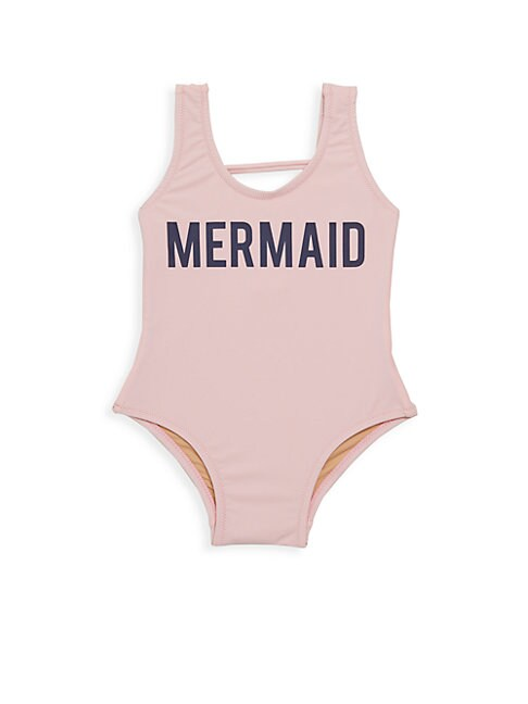 SHADE CRITTERS | Baby Girl's Mermaid One-Piece Swimsuit | Goxip