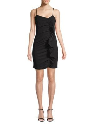 Parker Ruffled Bodycon Dress