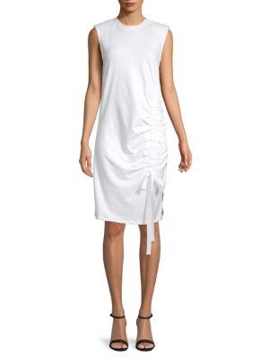 Grey Lab Sleeveless Shift Dress