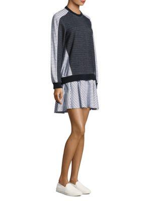 Prose & Poetry Tanner Sweatshirt Dress