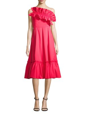 Prose & Poetry Strapless Ruffle Dress