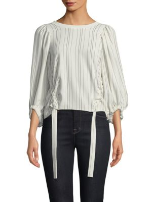 Prose & Poetry Meg Bubble-Sleeve Top