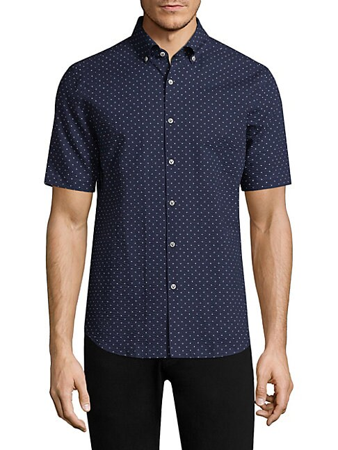 Ben Polkadot Classic Fit Button-Down