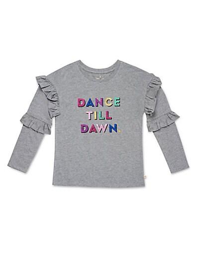 0921dd9c3 Kate Spade New York Girl's Dance Till Dawn Cotton Top
