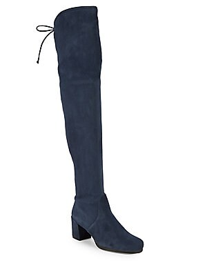 Aliana Stretch Microsuede Tall Boots by Bcb Generation