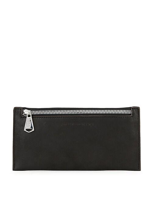 AIMEE KESTENBERG   Maui Top Zip Leather Wallet   Goxip