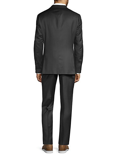 a48c7fd5f ... Boss Hugo Boss Regular Fit Johnstons Lenon Virgin Wool Suit