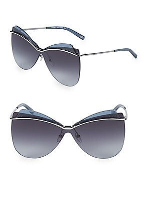 c125df0b15a Marc Jacobs - 60MM Round Aviator Sunglasses - saksoff5th.com
