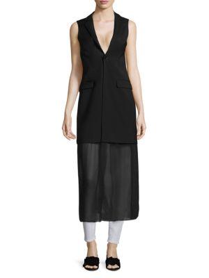 Each X Other HYBRID BLAZER VEST DRESS