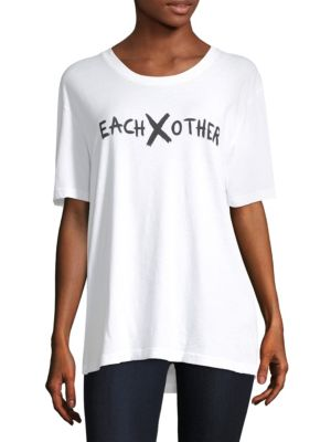 EACH X OTHER Logo Tee in White