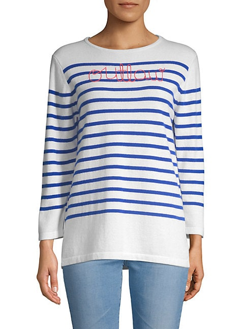 Outlaw Striped Cashmere Sweater