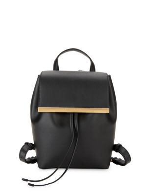 Donna Karan Leathers Mally Leather Backpack