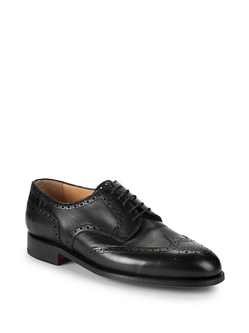 Manchester Brogue Leather Derbys