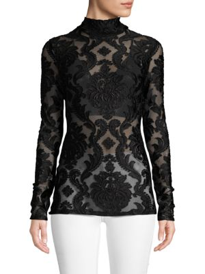 Alice Mccall Embroidered Long-Sleeve Top