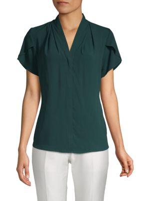 Calvin Klein Tops Classic Short-Sleeve Top
