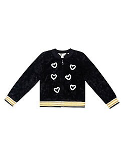 254f4b1130cc QUICK VIEW. Petit Lem. Little Girl's & Girl's Dance Flow Velvet Jacket